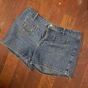 Pants - 💝Free with any purchase Denim shorts